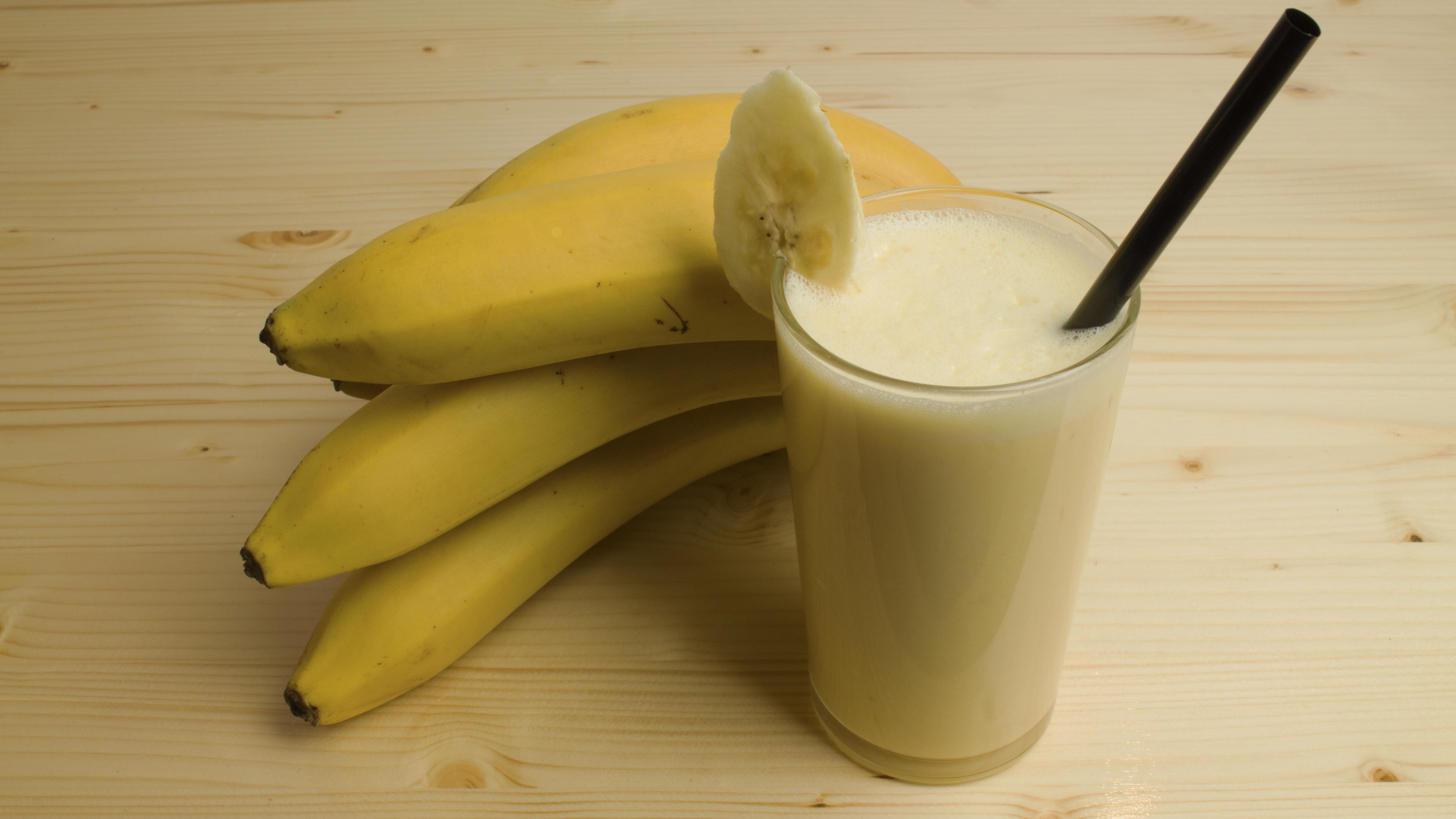 Laat ons jouw banaan smoothie maken!