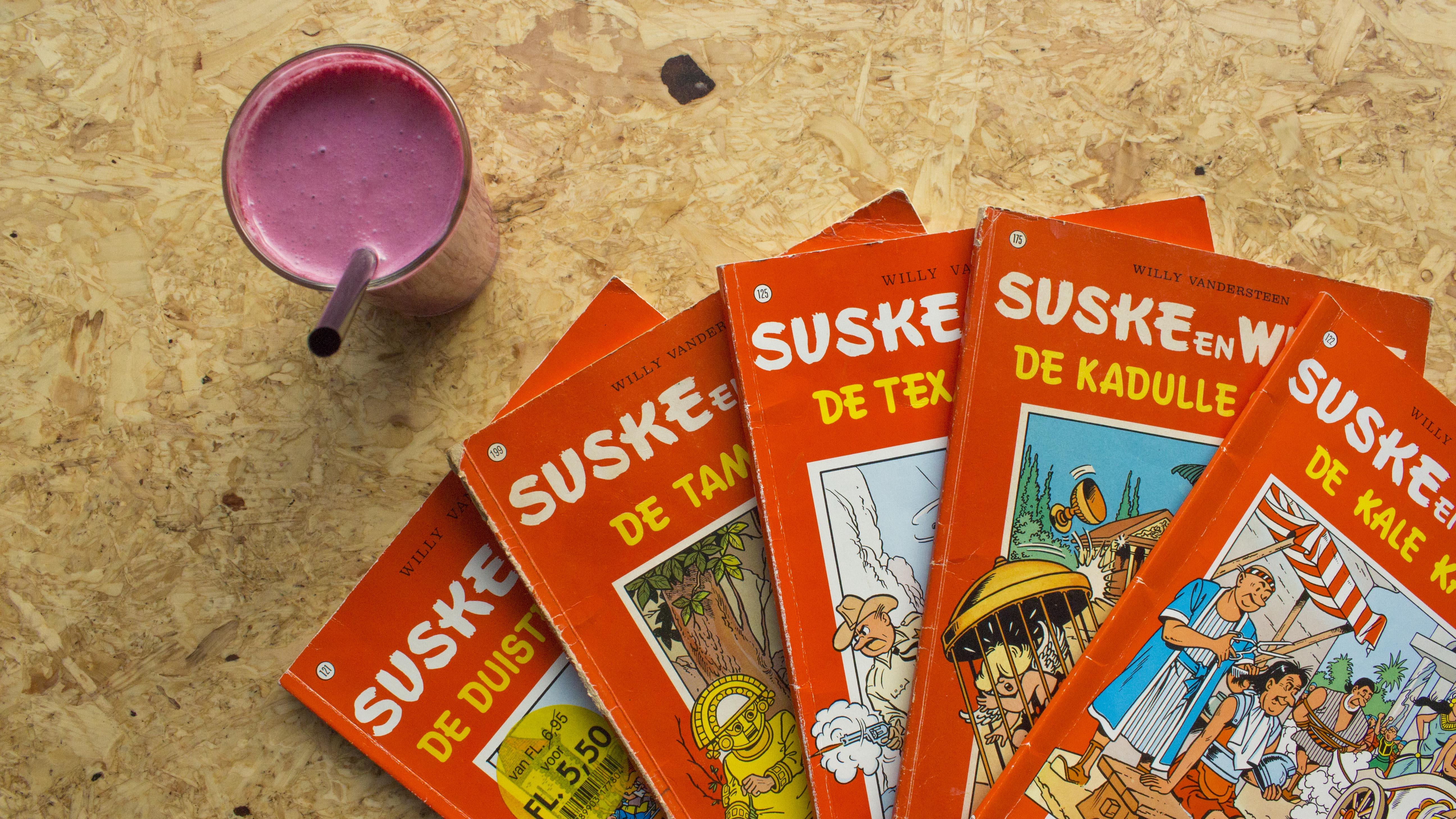 Een shake en Suske en Wiske op de Maasstraat 63 Amsterdam