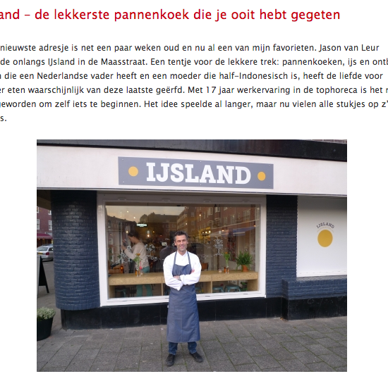 Slow Food Nederland - De lekkerste pannenkoeken in Amsterdam